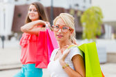 Women Love Shopping  — Stock Photo