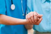 Caring Elderly Concept — Stock Photo