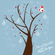 Royalty-Free Stock Imagen vectorial: Tree with bird