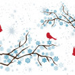 Vector de stock : Snow Branches