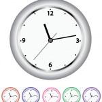 conjunto de relógios — Vetorial Stock