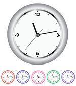 组的时钟 — 图库矢量图片