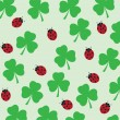 Clover background - Stock Vector