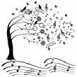 Music Tree — Stock Vector #28032283