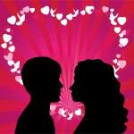 Romantic couple — Stock Vector #30233465