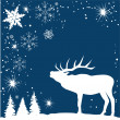 Reindeer — Vector de stock #30233469