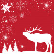 Reindeer — Vector de stock #30233571
