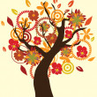 Fall Tree — Stockvector #30942625
