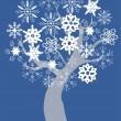 Snow Tree — Stock Vector #30942905