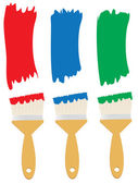 Paint Brush — Stock Vector