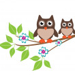Owls — Stock Vector #31588709
