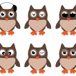 Owls — Stock Vector #31589757