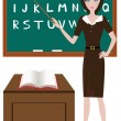 Teacher — Stock Vector #33247147