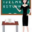 Teacher — Stock Vector #33247185