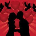 Romantic Couple — Stock Vector #35991641