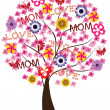 Mother's Day Tree — Stock Vector #36856613