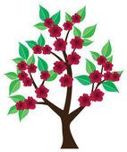 Trädet — Stockvektor