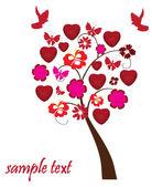 Valentine strom — Stock vektor