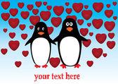 ペンギン — ストックベクタ