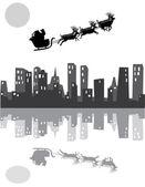 Papá Noel — Vector de stock