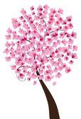 Vişne çiçeği — Stok Vektör