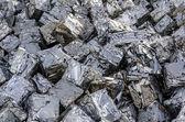 Metal cubes — Stock Photo