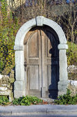 Old doors still standing — Stock Photo