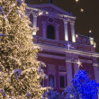 Stock Photo: Winter city decorations