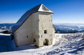 Church in the mountains — Стоковое фото