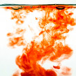 Red ink in water — Stock Photo