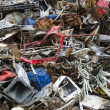 Metal waste pieces ready to be recycled — Stock Photo