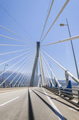 Patras bridge — Stock Photo