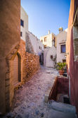 Monemvasia streets — Stock Photo