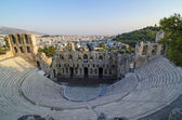Athenian theatre — Stock Photo