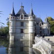 Azay-le-Rideau castle, Loire Valley, France — Stock Photo
