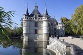 Azay-le-Rideau castle, Loire Valley, France — Stock Photo