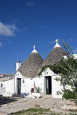 Trulli village in Alberobello, Italy. — Stock Photo