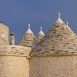 Trulli roofs - Stock Photo