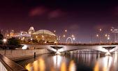 Singapore by night — Stock Photo