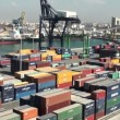 Containers terminal — Stock Video #14128439
