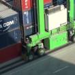 Stock Video: Cargo handler