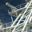 SAM radars on cruise ship — Stock Video #14158134