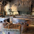 Old blacksmith workshop — Stock Photo