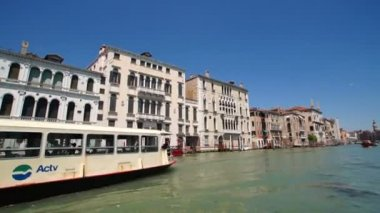 Venice Grand Canal — Stock Video