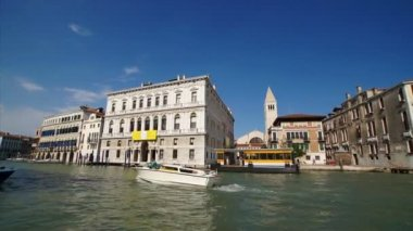 Venetië canal grande — Stockvideo