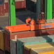 Containers handling — Stock Video