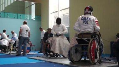 IWAS: International Wheelchair & Amputee Sports — Stock Video