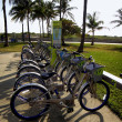 Decobyke bicycles in Miami — Stock Photo #32474277