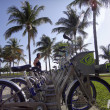 Decobyke bicycles in Miami — Stock Photo #32474297