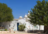 Trullo house in Alberobello, South Italy — Stock Photo